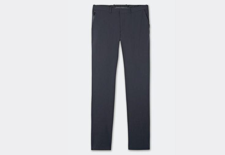 Pantalon de costume slim Bleu Marine Homme - Jules