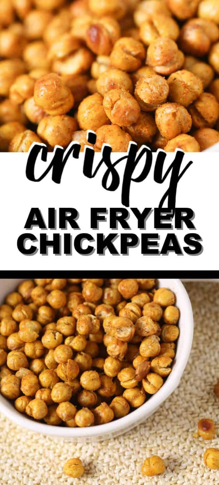 This Roasted Chickpeas recipe is quick and easy. To make these crispy chickpea…   – Snacks