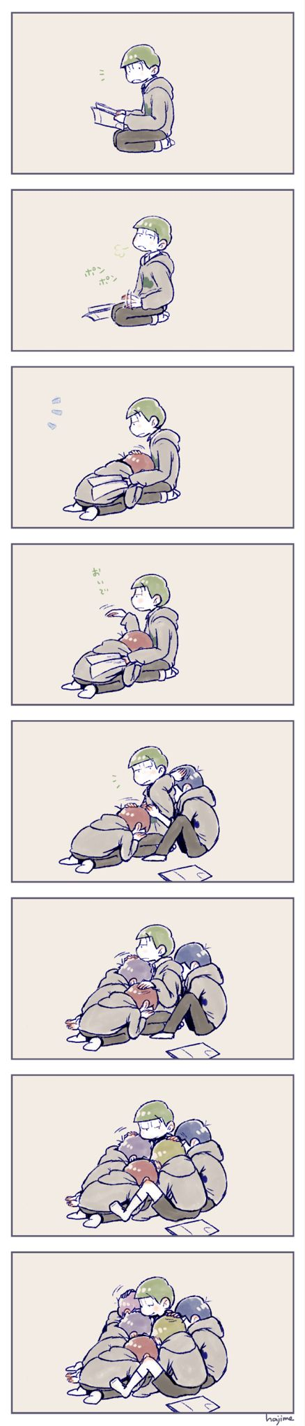 Osomatsu-san. Choromatsu the teddy bear X3 cute