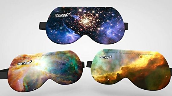 Sleep Mask Lets You Control Your Dreams. REM enhancing eyemask, or remee helps you control your dreams by flashing lights during your sleep cycles. The LEDs aren't bright enough to wake you, but they will appear in your dreams, helping you become aware of the fact that you're dreaming