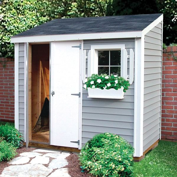 Take our organization skills outside and get your garden shed or outdoor storage space tidied up. While you're at it, you can always beautify the shed, too. Think fresh coat of paint, some plants and then some. Check out other great shed ideas.
