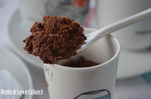 mousse chocolat a l'aquafaba