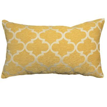 Kohls Yellow Throw Pillows : Decorative pillows, Lattices and Pillows on Pinterest