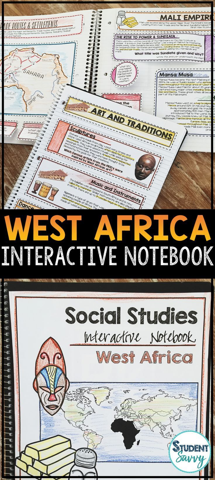 28 best math images on pinterest teaching ideas teaching math and west africa for interactive social studies notebook fandeluxe Image collections