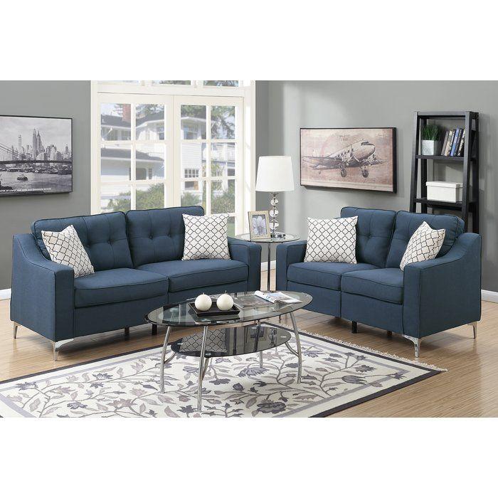Sebastian 2 Piece Living Room Set Sofa And Loveseat Set Cheap Living Room Sets Living Room Sets