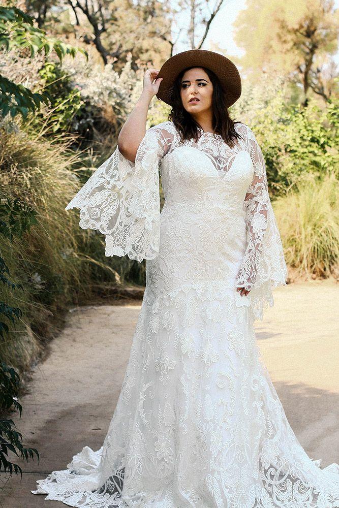 22++ Plus size bohemian wedding dress ideas info
