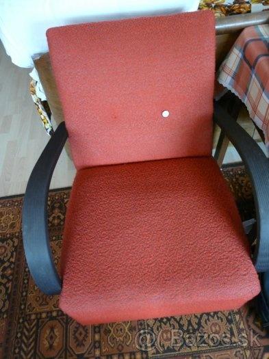 Retro kreslá a stoličky (50. roky) - 25 E,Pezinok