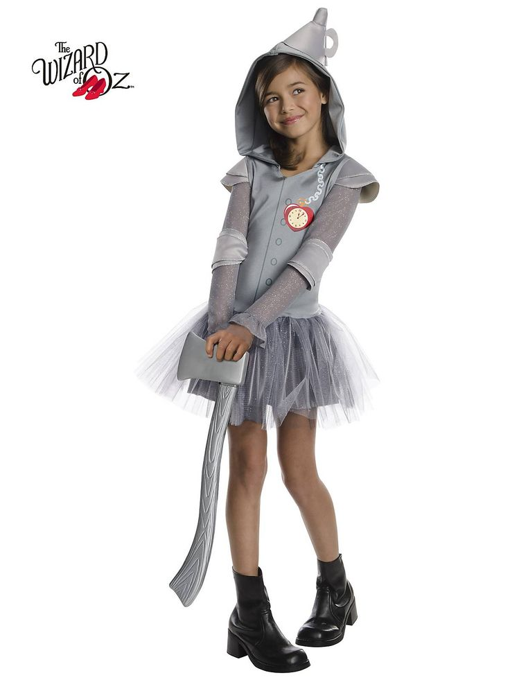 Girls Wizard Of Oz Tin Man Tutu Costume | Wholesale TV and Movie Costumes for Girls