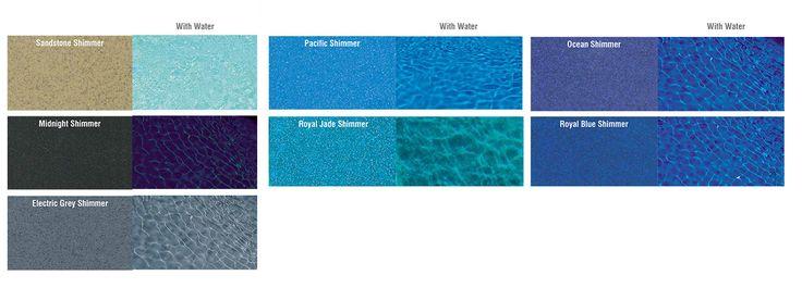Image result for fibreglass pool colours