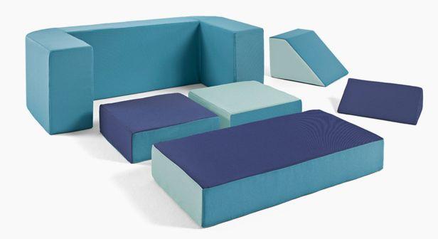 El sofá modular para niños - Umoon Aqua La mar de cómodo y divertido - La mar de cómodo y divertido
