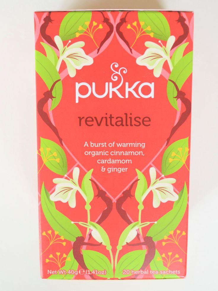 Pukka Revitalise Tea | Pukka Herbs | Organic, ethically sourced, caffeine free | Cinnamon,  Cardamon & Ginger |  (Amazon.co.uk Affiliate Link)