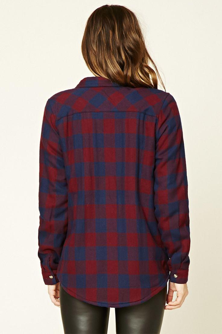 Buffalo Plaid Flannel Jacket