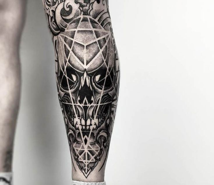 dotwork skull tattoo by otheser tattoo tatoos pinterest tattoo ideen totenkopf tattoos. Black Bedroom Furniture Sets. Home Design Ideas