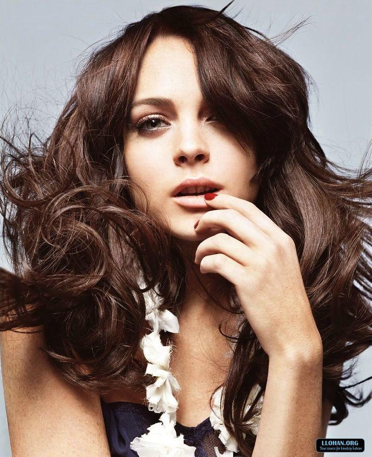 Lindsay Lohan Brunette Hair 73
