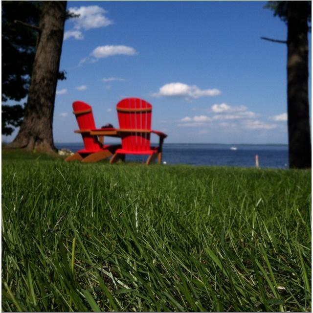 red adirondack chairs sebago lake me this is my maine pinterest