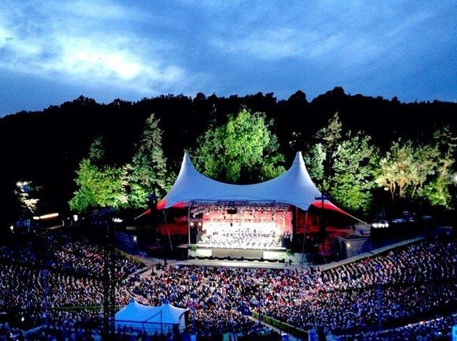 Waldbühne — Berlin, Germany   19 Insanely Unique Concert Venues To Visit Before You Die