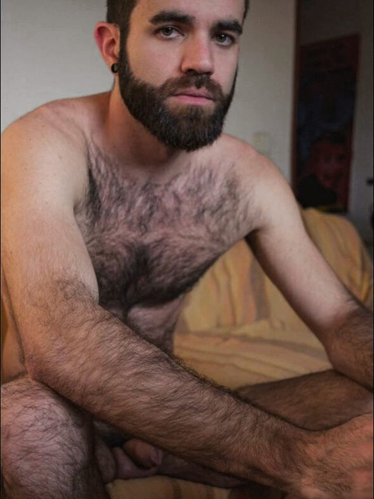 Cun covered gay male chest hairy