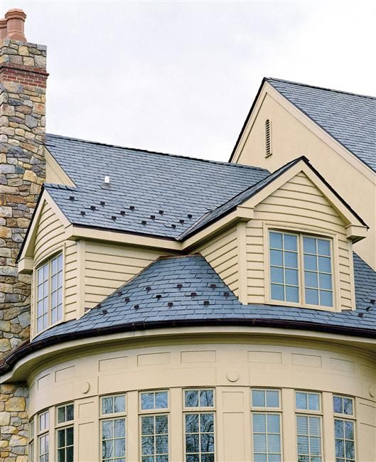 10 best images about synthetic slate roofing faux slate for Fiber cement composite roofing slate style