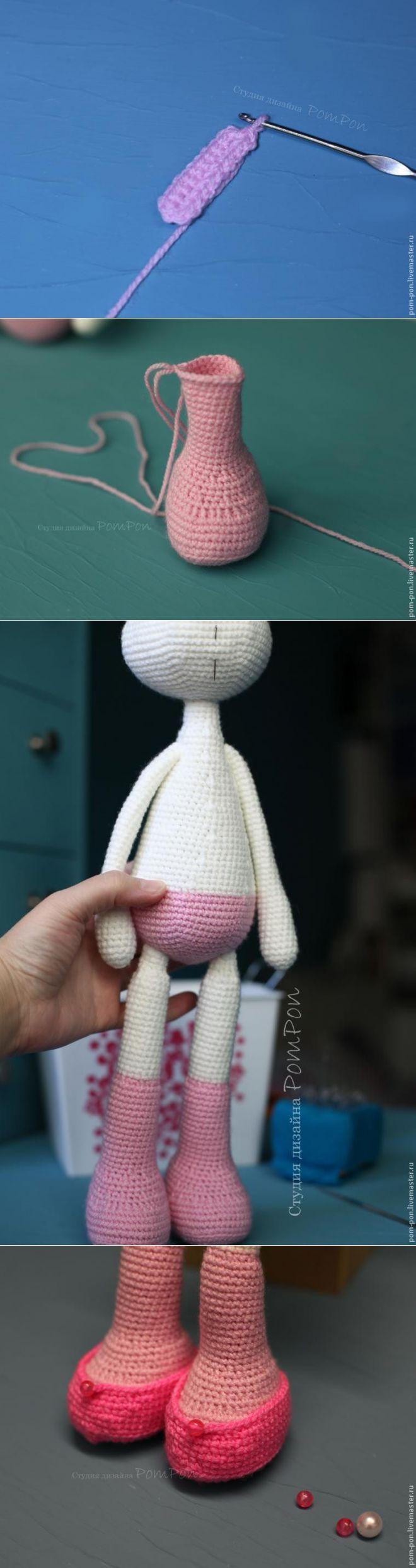 Мастер-класс: Вязаная куколка. Часть вторая - Ярмарка Мастеров - ручная работа, handmade