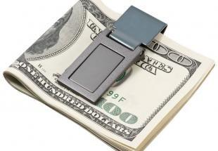 pénzcsipesz - ajándék férfiaknak