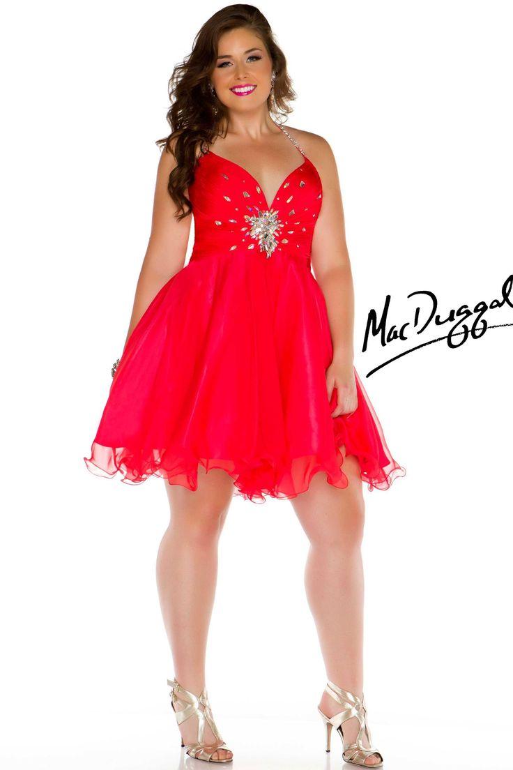 17 mejores ideas sobre vestidos rojos para gorditas en