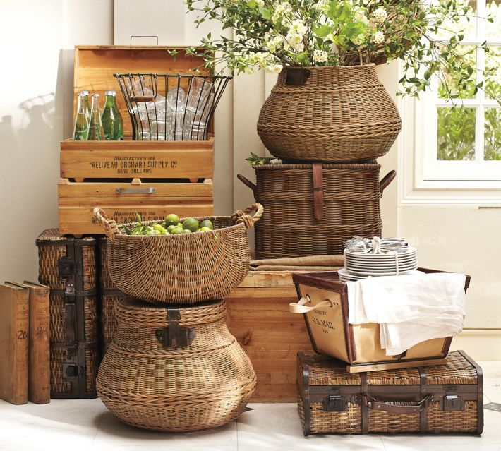 53 Best Images About Decorating With Baskets On Pinterest
