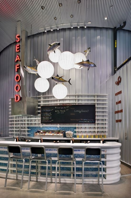 restaurants cafes on pinterest | Restaurants/ Cafes/ Hotels/ Retail / cute seafood bar