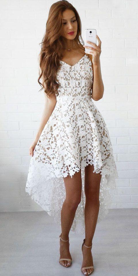 How do i look beautiful everyday white dresses