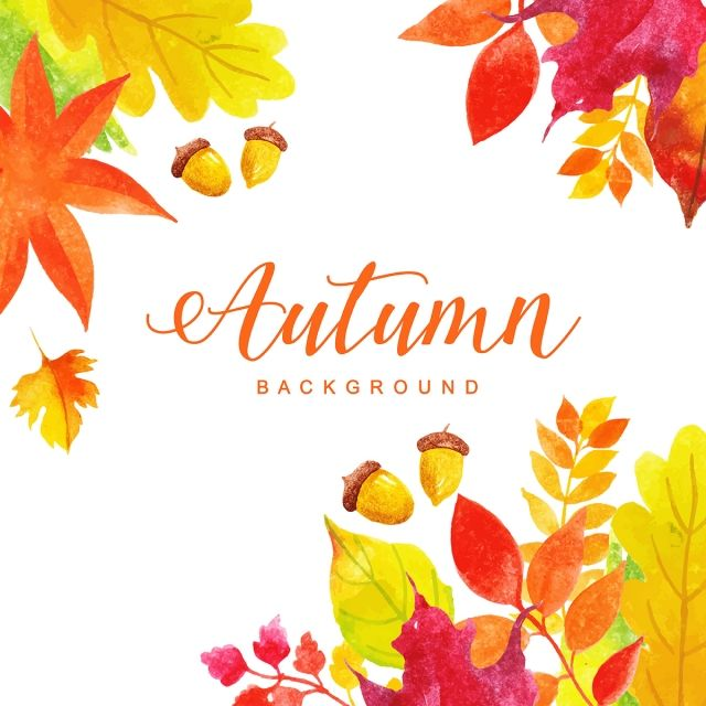 Beautiful Watercolor Autumn Leaves Background Watercolor Paint Background Png And Vector With Transparent Background For Free Download Watercolor Autumn Leaves Watercolor Flower Background Paint Background