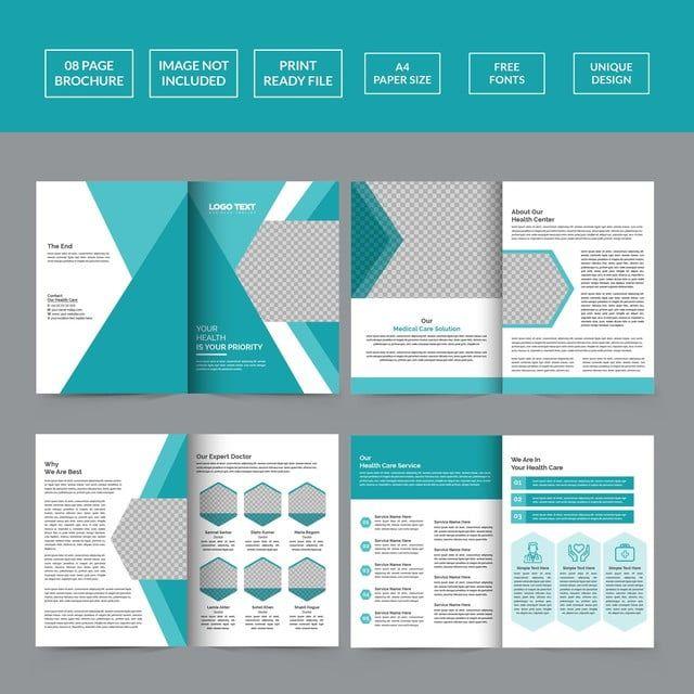 Corporate Healthcare Brochure Template Company Brochure Design Brochure Design Layout Company Folder Design
