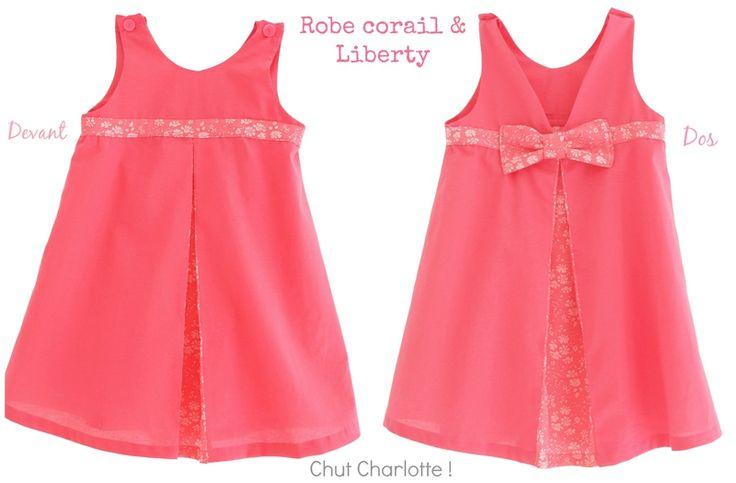 La robe trapèze Capel - préparation cortège