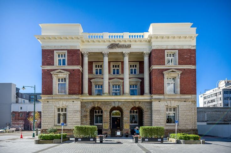The Heritage Hotel, Christchurch, New Zealand.  Where the bride and bridesmaids got ready
