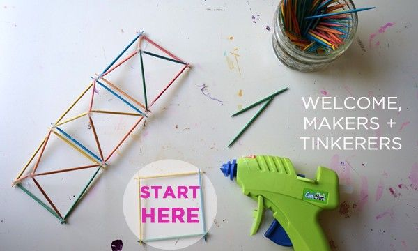 Tinkerlab-creative experiments for makers and tinkerers