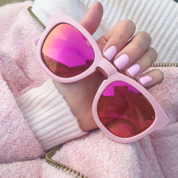 Este óculos é muito Barbie!