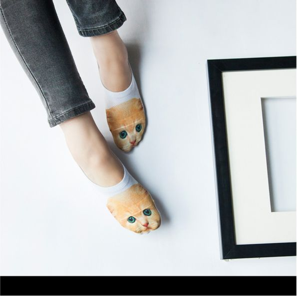 FREE Worldwide SHIPPING! $15.80NOW$11.80 Modern Cat/Dog 3D Printed Low Ankle Socks Perfect Socks for Summer! TheseModern Cat/Dog 3D Printed Ankle Socks are soft, comfortable, thin andbreathablelike second skin. These socks are cute and fun. Wear them on any occasion to brighten you mood. In fact, they will be nicely hidden when you wear them with your regular covered shoes. #discountvault