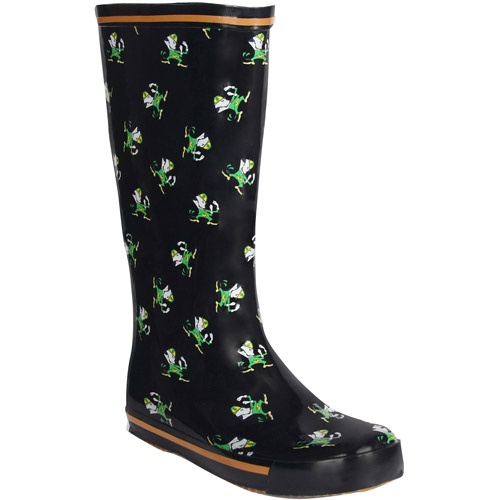just bought these :) NCAA - Women's University of Notre Dame Fighting Irish Leprechaun Boots: Shoes : Walmart.com