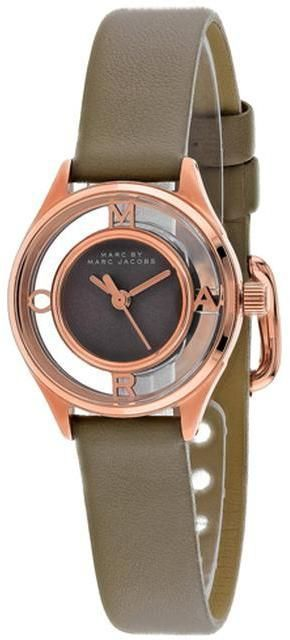 Montre pour femme : Ice.com  Marc Jacobs Tether  Collection MBM1380 Womens Leather Strap Watch