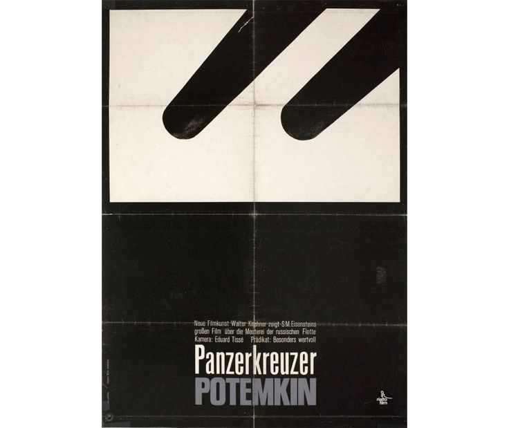"German A1 poster by Hans Hillmann (1965), Rialto Films. ""A master of visual concision and one of the most important modernist poster designers, Hillmann produced over 130 film posters between 1953 and 1974, including staggering pieces for Andrzej Wajda's Ashes and Diamonds, Robert Bresson's Pickpocket, and Louis Malle's The Fire Within."""