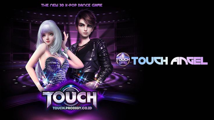 Touch Online , game web based 3D casual dance KPOP