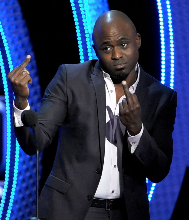 The Wayne Brady | The 43 Types Of Celebrity Middle Fingers