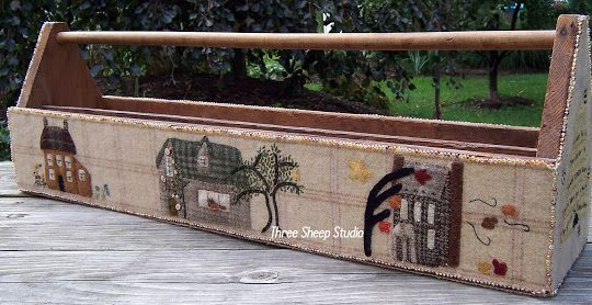 ThreeSheepStudio: Wool Applique Tool Box...