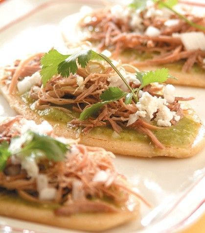 """""""Chalupitas verdes"""", un delicioso antojito mexicano"""