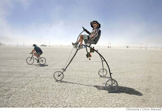 Burning Man trike