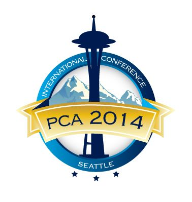 Round logo design for international pca conference 2014 for International design company