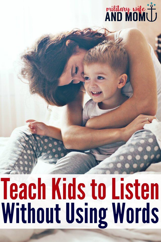 Brilliant ways to teach kids to listen using non-verbal communication. I would've never thought of these listening hacks. Great for toddler listening and beyond.