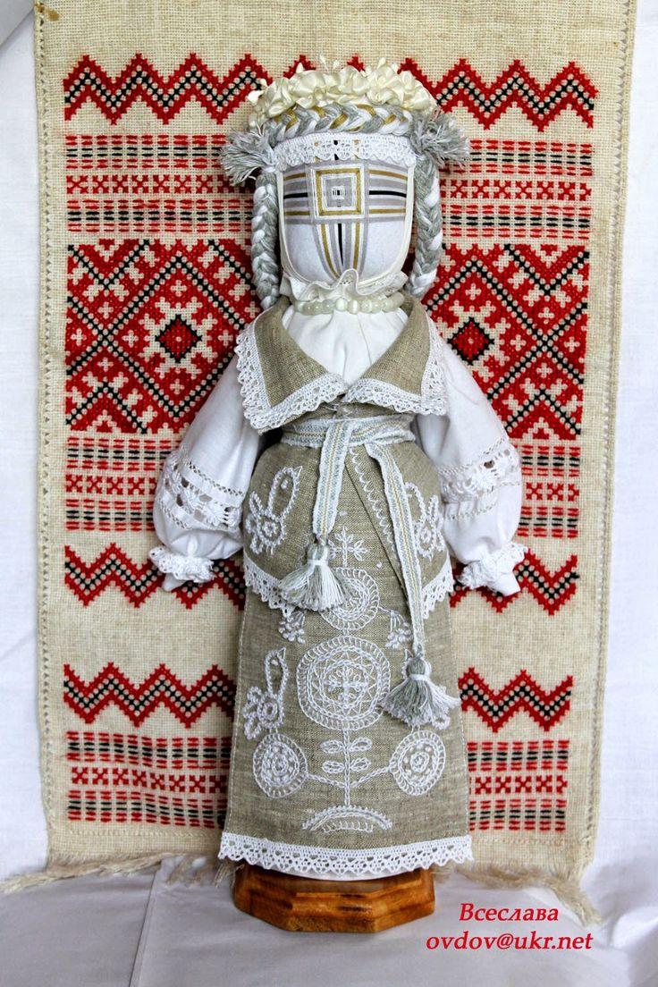 "FolkArtUA-motanka: Лялька "" Провесна"" #motanka #мотанка #українськалялька…"