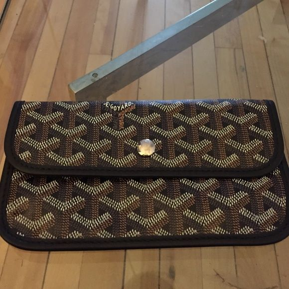 Brand New never used authentic Goyard wallet!! Beautiful unused brand new authentic Goyard wallet! Black print Goyard Accessories