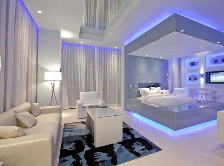 Cool bedrooms for modern bedroom decorating with modern for Cool modern living rooms
