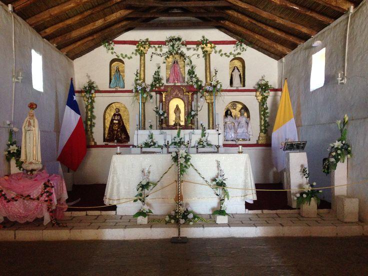 Iglesia Toconao Altar
