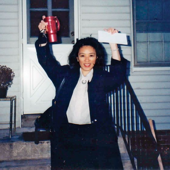 """American Airlines flight attendant Betty Ong outside her apartment in Andover, Massachusetts.  (Photo: Courtesy of the Ong family)  Betty Ong, a flight attendant aboard Flight 11, had the presence of mind to call American Airlines when things started to turn horrible, and stayed on the phone with the company's ground crew for more than twenty minutes. Ong's voice was hauntingly calm at the outset, even as she relayed the crisis in progress—""""The cockpit is not answering; somebody's stabbed…"""
